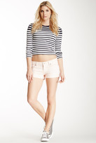 7 For All Mankind Foldover Cuff Short