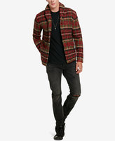 Denim & Supply Ralph Lauren Men's Plaid Shawl-Collar Cardigan