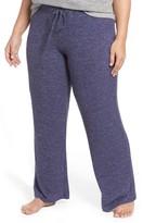 Make + Model Plus Size Women's 'Best Boyfriend' Brushed Hacci Lounge Pants