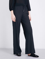 Alice + Olivia Alice & Olivia Benny mid-rise stretch-jersey trousers