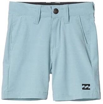 Billabong Kids Crossfire Slub Shorts (Toddler/Little Kids) (Seafoam) Boy's Shorts