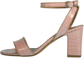Tabitha Simmons Leticia Embossed Croc Sandal