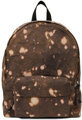 Maison Margiela Brown Tie-Dye Backpack