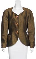 Christian Lacroix Embellished Jacquard jacket