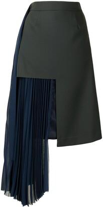Maison Mihara Yasuhiro Multi-Panel Design Skirt