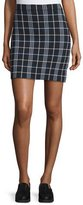 Theory Teslianna Lustrate Plaid Skirt