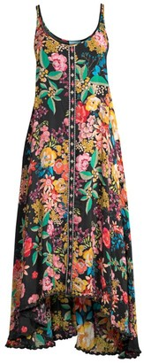 Johnny Was Logan Floral Handkerchief Dress