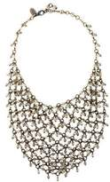 Erickson Beamon Crystal Beaded Bib Necklace