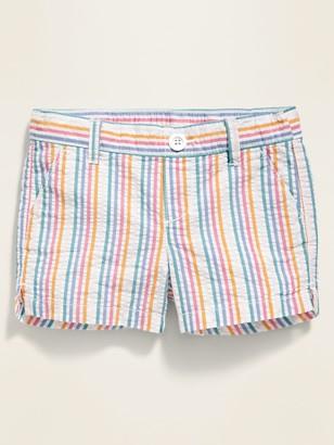 Old Navy Pull-On Seersucker Shorts for Toddler Girls