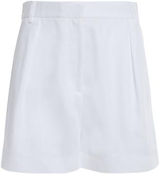 Tibi Twill Shorts