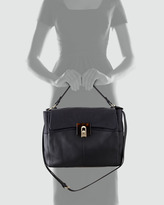 Lanvin For Me Double-Carry Tote Bag, Black/Blue