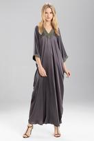 Josie Natori Couture Trim Caftan