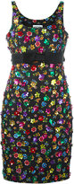 Moschino flower power dress - women - Cotton/Acetate/Rayon/plastic - 46