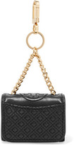 Tory Burch Fleming Quilted Leather Keyring