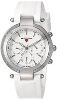 Swiss Legend Women's 'Madison' Quartz Stainless Steel and Silicone Casual Watch, Color:White (Model: 16175SM-02-WHT)