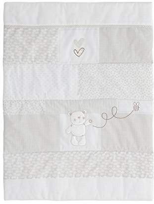 O Baby Obaby B is for Bear Crib Set (White)