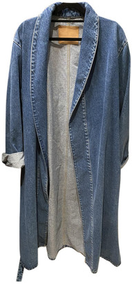 Balenciaga Blue Denim - Jeans Coats