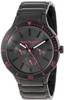Hush Puppies Women's HP.7101L.1528 Freestyle Black Ion-Plated Coated Stainless Steel 24-Hour Day Date Watch