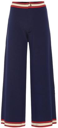 Gucci Wide-leg wool pants
