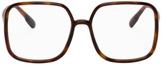 Christian Dior Tortoiseshell Oversized SoStellaire01 Glasses