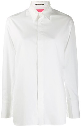 Y's concealed front shirt