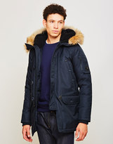Spiewak N3-B Classic Parka with Fur Navy