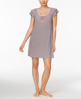 Alfani Flutter-Sleeve Printed Knit Chemise, Created for Macy's
