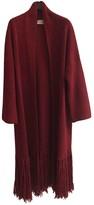 Vicolo Burgundy Wool Coat for Women