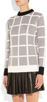 J.W.Anderson Checked wool sweater