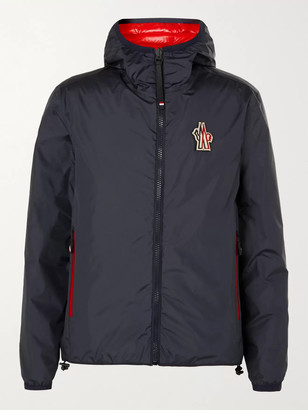 MONCLER GRENOBLE Chambave Reversible Logo-Appliqued Quilted Shell Down Hooded Ski Jacket
