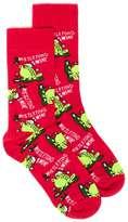 Topman Red Mistletoad Christmas Socks