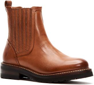 Frye Ella Moto Leather Chelsea Boot