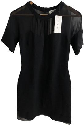 Sandro Fall Winter 2018 Black Viscose Dresses