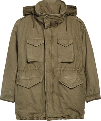 Visvim Bickle Damaged Cotton Jacket