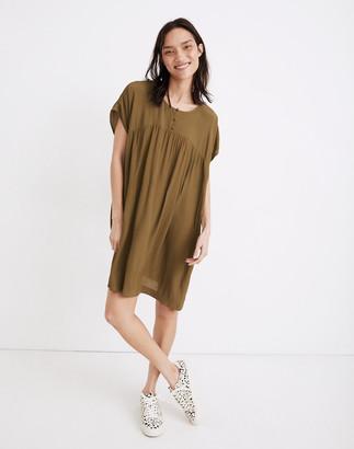 Madewell Shirred Easy Dress
