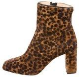 Eugenia Kim Ponyhair Square-Toe Boots