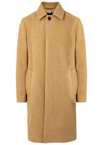 3.1 Phillip Lim Camel Textured Wool Blend Coat