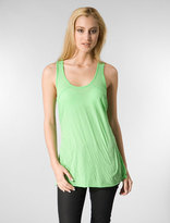 Da-Nang Racerback Tank in Poison Green