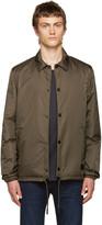 Acne Studios Green Insulated Tony Face Jacket