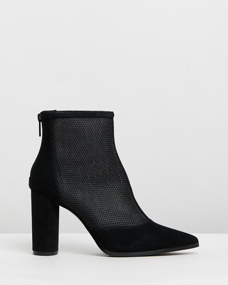 Jo Mercer Tierney Suede Ankle Boots