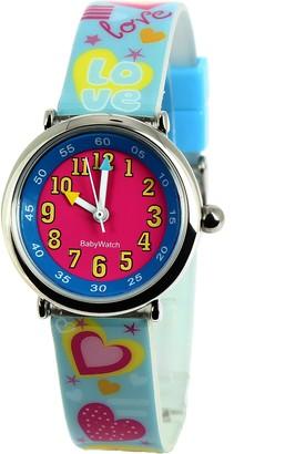 Baby Watch 3700230606160 Coffret Bon-Heure Love - Wristwatch Girl's Plastic Band Colour: Multicolour