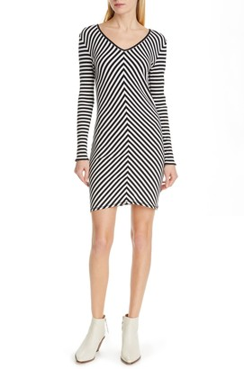 Rag & Bone Halifax Ribbed Mini Dress