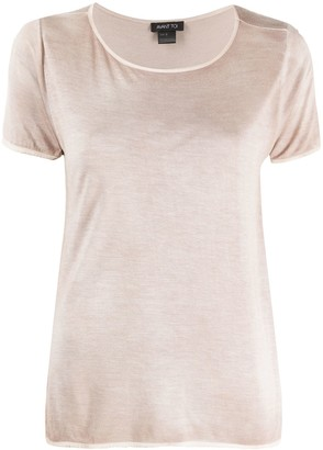 Avant Toi scoop neck T-shirt