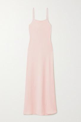 Alexander Wang Wash And Go Satin Maxi Dress - Blush