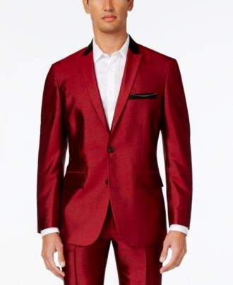 INC International Concepts Men's Shiny Blazer, Created for Macy's