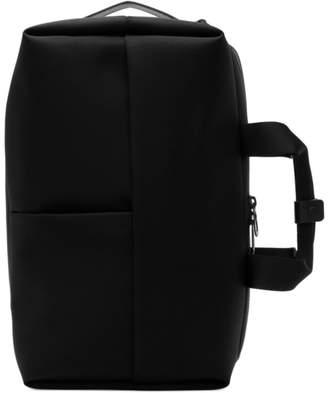 Côte and Ciel Black Garonne Briefcase Backpack