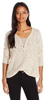 Rip Curl Women's Moondust Pullover Sweater with Lace Details
