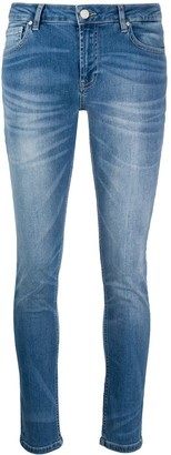 Frankie Morello Acid Wash Skinny Jeans