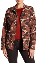 Barbour Collared Print Jacket