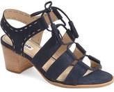 Dune London 'Ivanna' Lace Up Block Heel Sandal (Women)